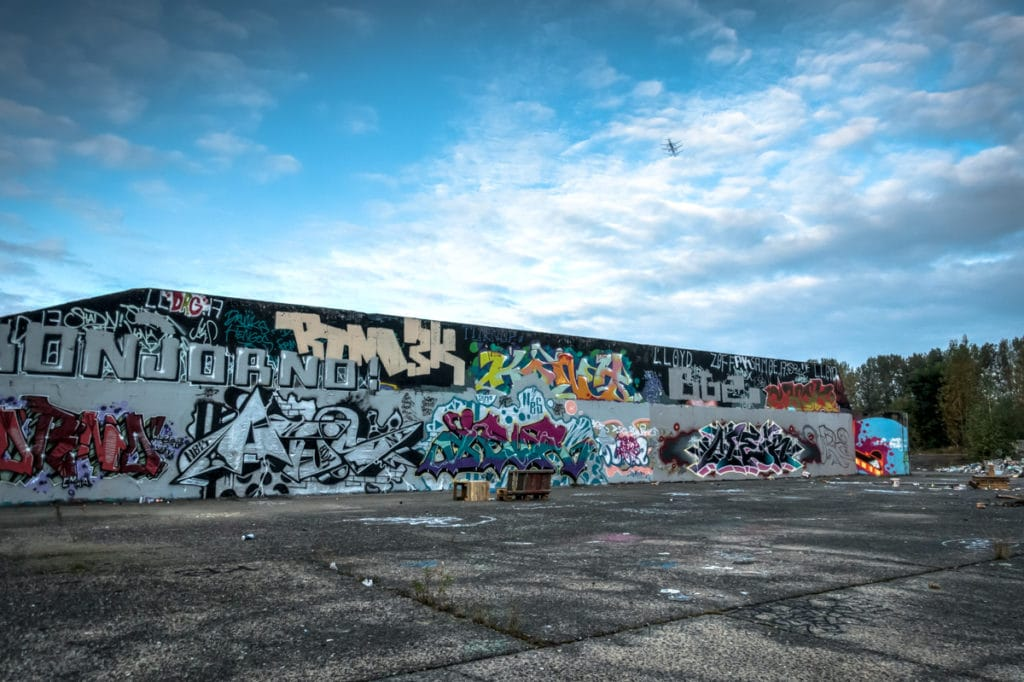 graffiti – hall of fame, blankenburg / berlin