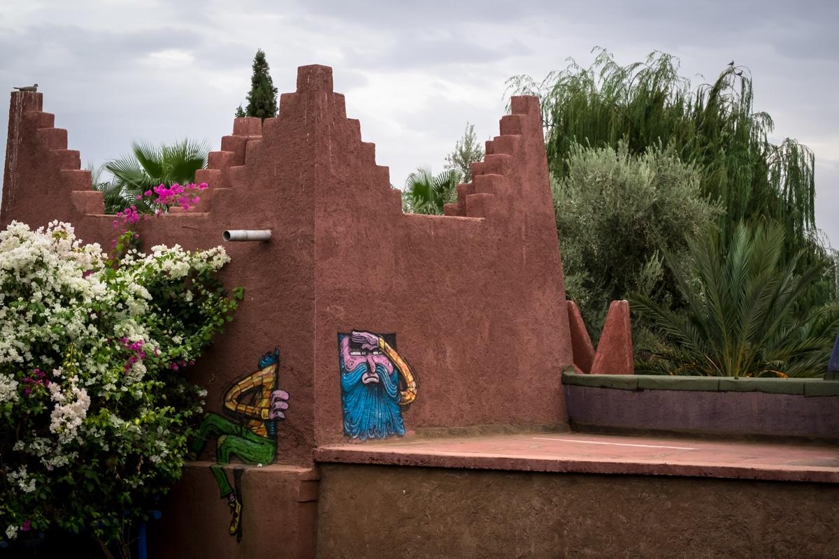 Jardin Rouge Buildings October 2017 Marrakesh Urbanpresents