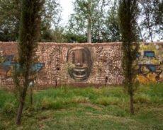 urban art im garten des jardin rouge,  oktober 2017 – marrakesch