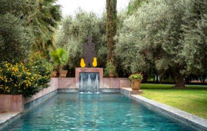 jardin rouge-besuch,  oktober 2017 – marrakesch
