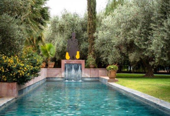 jardin rouge visit, october 2017 – marrakesh