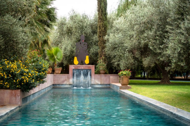fenx - garden @ jardin rouge, marrakesh