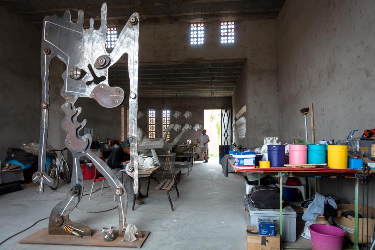 ateliers im jardin rouge, oktober 2017 – marrakesch ...