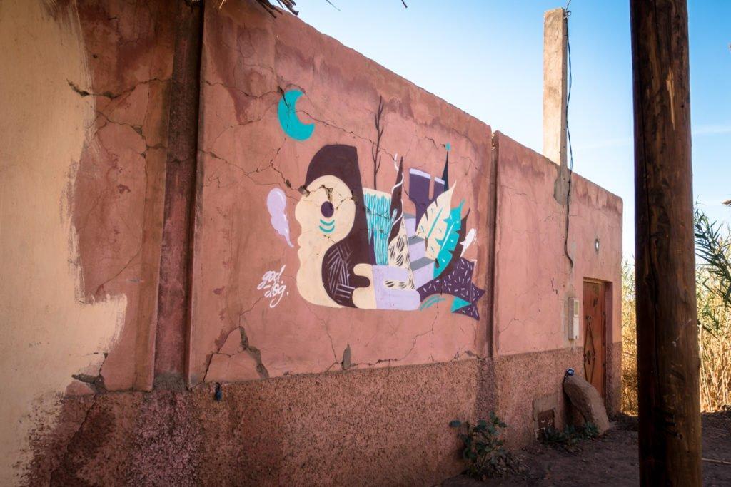 graffiti – goddog – urbex art on the road to jardin rouge