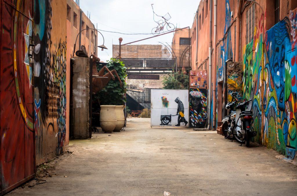 street art – alfim 161 –  fer attitude – marrakesh