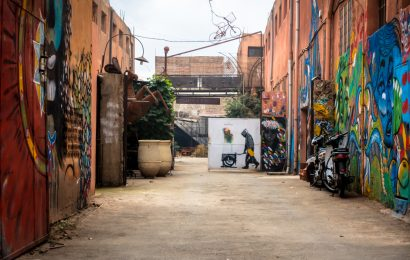 local street art – fer attitude, marrakesch