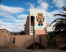 """remed mural """"hayat"""" – marrakesch"""