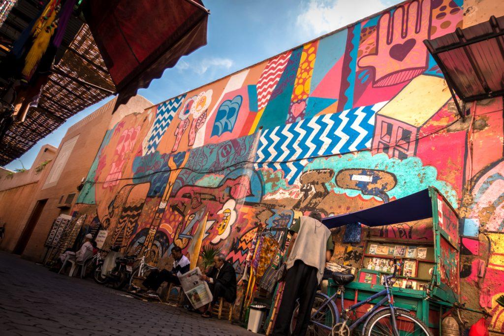 mural – sickboy – mb6streetart, marrakesh