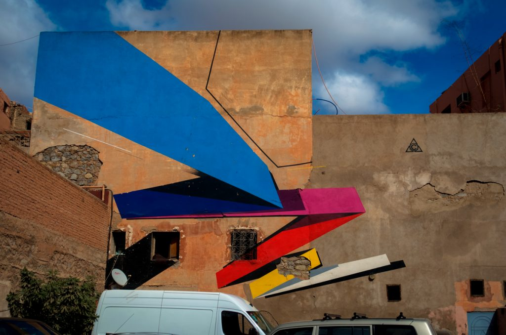 mural – remi rough – mb6streetart, marrakesh