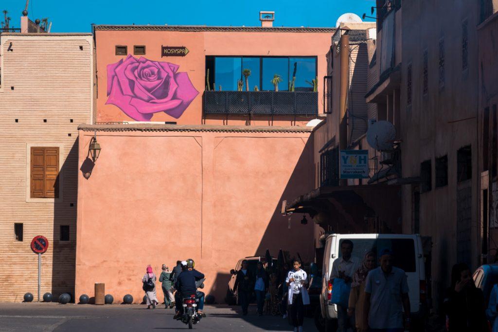 mural – dotmasters – mb6streetart, marrakesh