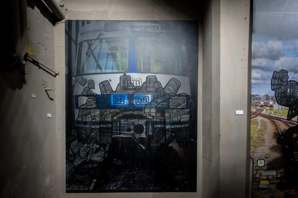 graffiti – won abc – ozm, hamburg