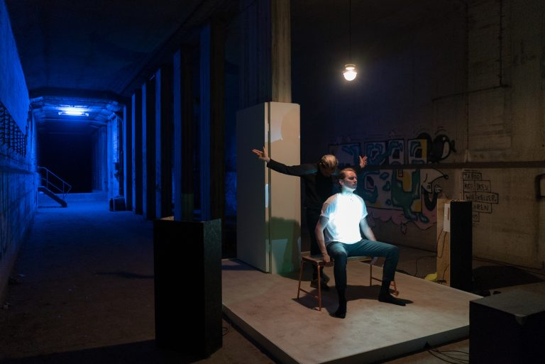 """Expected film by Rocco and his brothers  """"Blaues Licht"""" (Blue Light)"""
