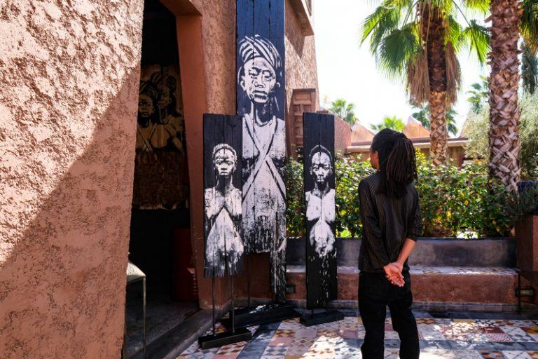Kouka, the intercultural contextual artist