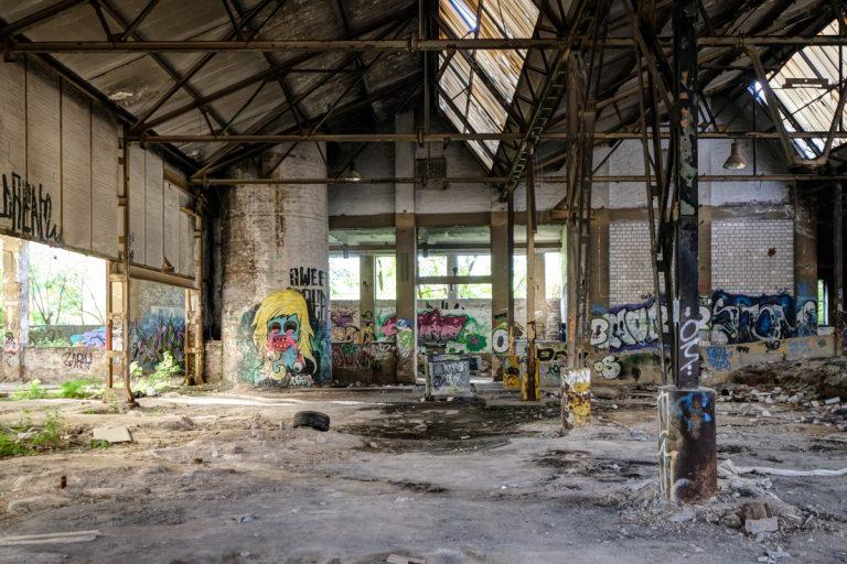 Urbex Graffiti – Alte Schraubenfabrik, Herne