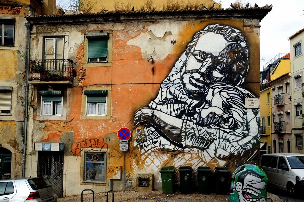 Galeria Arte Urbana (GAU) in lissabon