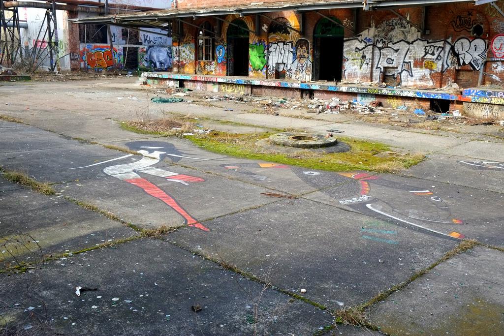 streetart in bärenquell brauerei – schöneweide